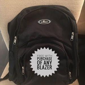 Handbags - 🙅🏽SOLD🙅🏽Everest black backpack